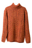 Orange sweater Stock Images