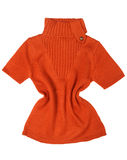 Orange sweater Stock Photos