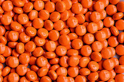 Orange sweet candies Stock Image
