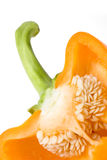 Orange sweet pepper. Stock Images