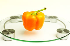 Orange sweet pepper Royalty Free Stock Image