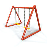 Orange swing Royalty Free Stock Photography