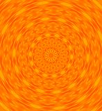 Orange swirl Stock Photo