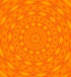 Orange swirl. Landscape manipulated with photoshop and elements Stock Photo