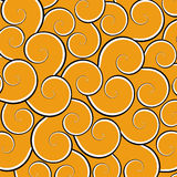 Orange Swirls Stock Photos