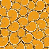Orange Swirls Stock Photos