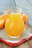 Orange Syrup Stock Photo