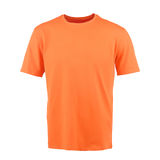 Orange T-shirt on a white background Royalty Free Stock Photo