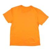 Orange t-skjorta Arkivfoto