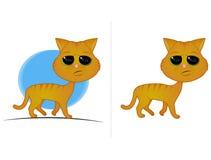 Orange Tabby-Katze Lizenzfreie Stockfotos