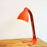 Orange table lamp Stock Images