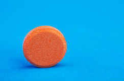 Orange tablet Royalty Free Stock Photo