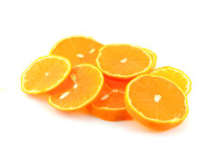Orange tangerine (mandarine) Royalty Free Stock Photography