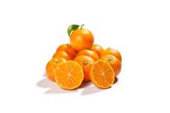 orange tangerines Fotografering för Bildbyråer