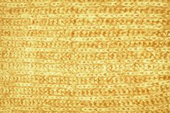 Orange tappningullmodell Arkivfoto