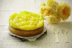 Orange tart Royalty Free Stock Images