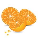 Orange is tasty fruit Stock Photo