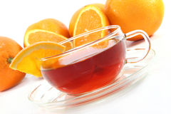 Orange tea Royalty Free Stock Photo