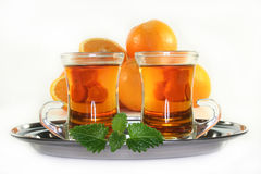 Orange tea Royalty Free Stock Images
