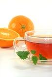 Orange tea Stock Image
