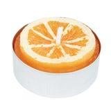 Orange Tealampautklipp Royaltyfri Bild