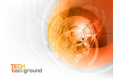Orange tech Royalty Free Stock Photography