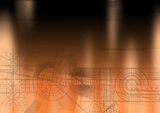 orange techbackground
