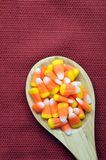 Orange teeth candies Stock Photo