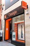 Orange telecom Royalty Free Stock Photo
