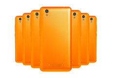 Orange telefoner Royaltyfri Fotografi