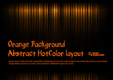 Orange Template Royalty Free Stock Photos