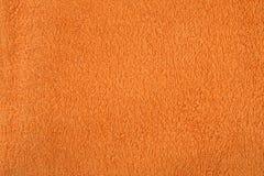 Orange Terrytowelings-Tuch Lizenzfreies Stockfoto