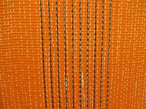 Orange textile closeup texture concept, Royalty Free Stock Photography