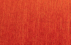 Orange Textile sofa background Royalty Free Stock Image
