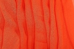 Orange Textilgewebe Stockbilder