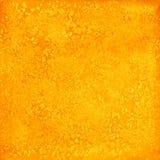 Orange textur för abstrakt vattenfärg som isoleras på vit backgroun Royaltyfria Foton