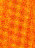 Orange texture. Background material texture orange of a paper towel Royalty Free Stock Images