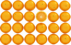 Orange texture Stock Images