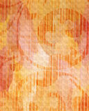 Orange texture with ornament Royalty Free Stock Photos