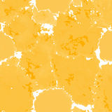 Orange texture. Vector murble background. Watercolor hand drawn Stock Photo