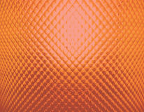 Orange textured abstract of back lighted of glass Stock Photos