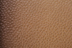 Orange Textured. Leather texture on the entire frame Royalty Free Stock Image