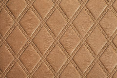 Orange Textured. Leather texture on the entire frame Royalty Free Stock Images