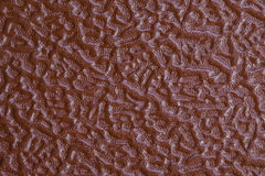 Orange Textured. Leather texture on the entire frame Royalty Free Stock Photography