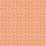 Orange textured seamless geometric wallpaper Stock Photography