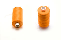 Orange thread Stock Images