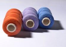 Orange Thread Stock Image