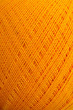 Orange thread Stock Image