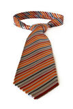 A orange tie Royalty Free Stock Image
