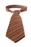 orange tie Royaltyfri Bild